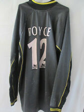 Match Worn Leicester City 2000 Simon Royce Goalkeeper Football Shirt /11572