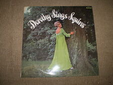 DOROTHY SINGS SQUIRES 1970 STÉRÉO VINYLE LP, EXCELLENT CONDITION. JOYS172