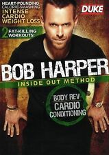Bob Harper - Inside Out Method : Body Rev, Cardio Conditioning (DVD, 2011)