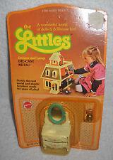 #7308 NRFC Vintage Mattel the Littles Dresser & Lamp