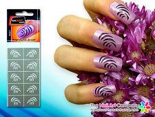 SmART-Nails - Slide Nail Art Stencils N057 Professional Nail Product