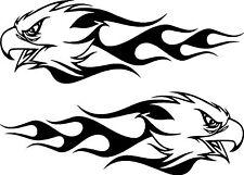 Tribal Eagle Flames Car,Van 4x4 Bike Window Stickers #3