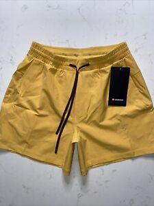 "Lululemon Mens Shorts 5"" Channel Cross Swim Medium (M)"