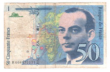 Billet 50 francs Saint-Exupéry 1993 TB+ avec accent