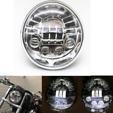Motorcycle Aluminum Chrome Headlight For Harley V Rod VROD VRSCA VRSC Headlights