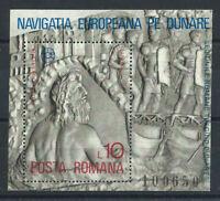 """Roumanie Bloc N°130** (MNH) 1977 - """"Dieu Danubius"""""""