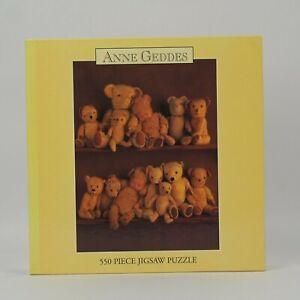 Anne Geddes Baby Teddy Bear 550 Piece Puzzle NEW SEALED