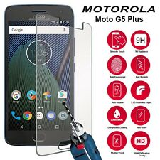 Per Motorola MOTO g5 Plus-custom made in vetro temperato PELLICOLA PROTEGGI SCHERMO