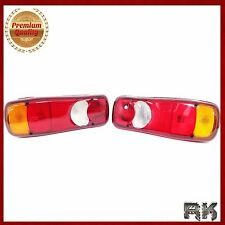 2x 12V/24V rear tail lights truck remorque châssis daf lf nissan cabstar & atleon