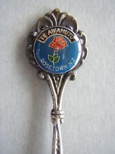 Te Awamutu Rosetown NZ New Zealand EPA1 Souvenir Spoon Teaspoon