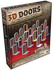 Zombicide Black Plague 3D Doors Board Game CMON Action Adventure Survival Theme