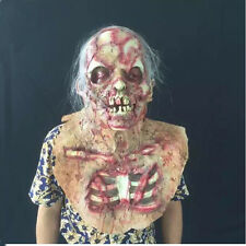 2016 HALLOWEEN ADULT THE DREADED Zombie Horror Scary Monster Mummy Mask Prop