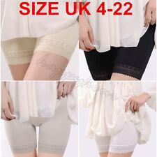 New Hot Women Elastic Safety Lace Soft Under Shorts Pants Leggings Render UK4-22