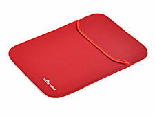 Netbook neopreno Tablet bolso portátil inflexión Funda negro/rojo 10 pulgadas