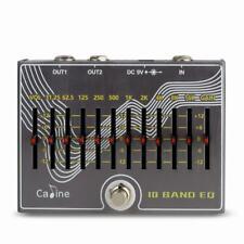 Caline CP-81, 10 Band EQ Plus Volume, Guitar Effect Pedal