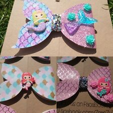 Plastic Hair Bow Template Make Your Own mermaid tail bows