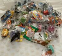 HUGE LOT Of  81 Assorted McDonald's & Burger King Happy Meal Toys -Unopened