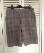 VOLCOM shorts taille 32 size PROWLER Plaid Pacsun board skate FITS MORE LIKE 30
