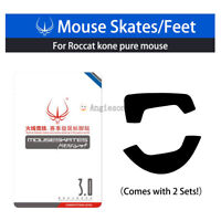 New Hotline Skates Feet for Roccat Kone Pure Mouse 0.6mm  2 Sets