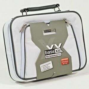 """Dicota Base XX Mini Netbook Tablet Carry Case With Handle Laptop Bag 11.6"""" White"""