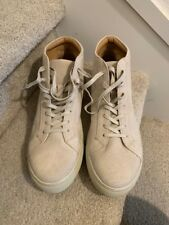 Kenneth Cole Reaction Suede High Top Sand Sneakers Men's Shoes Size 12M,