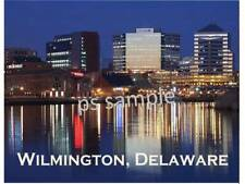 WILMINGTON DELAWARE - Travel Souvenir Flexible Fridge Magnet