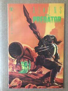 Aliens Vs Predator #1 first printing 1990 Dark Horse Comic Book