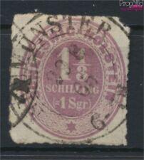 Schleswig-holstein 10 beau (b-Qualité) oblitéré 1865 Numéros (9108887