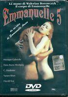 Emmanuelle 5 (1982) DVD NUOVO SIGILLATO Monique Gabrielle. Walerian Borowczyk