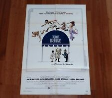 """ORIGINAL MOVIE POSTER """"THE RITZ"""" 1976 FOLDED ONE-SHEET"""
