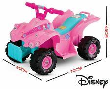 Kids Ride on Disney Princess Mini Quad Bike Pink Children Toy 6v Battery Vehicle