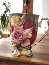 Maxwell & Williams Porzellan Becher Kaffee- , Teetasse, Posey, 300 ml