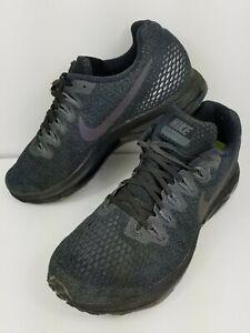 Nike Zoom All out  Size 8 Eu 39 Black Grey Low Women Air Running Shoe 878671 011