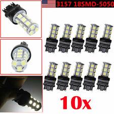 10* White 3157 18SMD LED Tail Brake Stop Backup Reverse Turn Signal Light Bulb