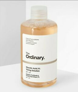 Original The Ordinary Glycolic Acid 7% Toning Solution 240ml New - Fast dispatch