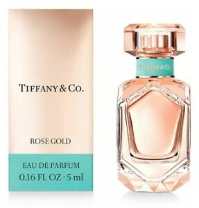 TIFFANY ROSE GOLD BY Tiffany & Co. FOR WOMEN MINI BOTTLE, NEW IN A BOX.