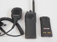 Motorola Xts 2500 H46kdc9pw5an Vhf 136 174mhz P25 Two Way Radio With Battery Mic