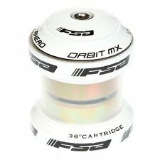"FSA 1"" 1/8"" Orbit MX MTB A Bicycle Road Headset in WHITE"