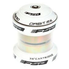 "FSA 1"" 1/8"" Orbit MX MTB BICICLETTA STRADA auricolare in bianco"