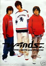 "W-INDS ""TRIO STANDING TOGETHER"" ASIAN POSTER - J-Pop Japan Music Superstars"