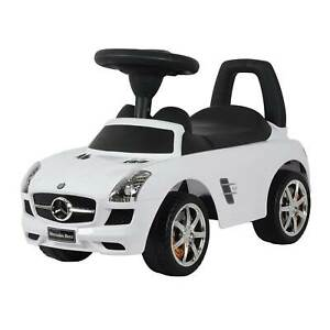 Best Ride On Cars Baby Toddler Riding Toy Push Car Mercedes, White (Open Box)