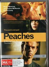 PEACHES (DVD) Hugo Weaving, Jacqueline McKenzie Emma Lung New RARE Error Rating