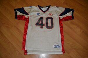 Vintage Super Bowl 40 XL Detroit Football Jersey Youth XL 18-20 Reebok NFL