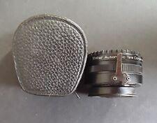 Vivitar Automatic Tele Converter Camera Lens 2x-23 Screw Camera Mount with Case