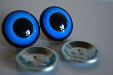 Ojos de seguridad azul 16 mm para osos de peluche amigurumi juguetes animales