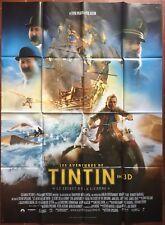 Affiche LES AVENTURES DE TINTIN Le Secret de la Licorne SPIELBERG 120x160cm *