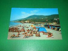 Cartolina Albenga - Camping Sole 1965 ca