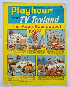 Playhour and TV Toyland Comic (1968) October 26th, Poor Copy