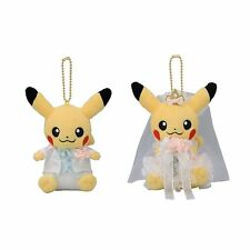 Pokemon Center Original Plush Doll Mascot Pair Pikachu Precious Wedding JAPAN