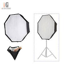 "Umbrella Softbox For SpeedLight Flash 120cm 47"" Octagon Softbox Off-camera"